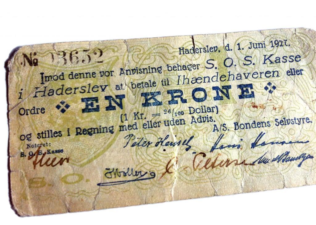 Bondens selvstyre-a-s_pengeseddel_1927_6589