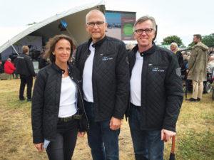 Lone Østergaard, Peter Nørgaard og Tommy Wølk fra Code of Care